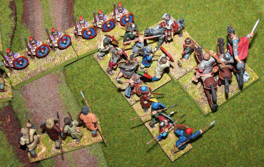 [Liens] Rapports de bataille antiques Y